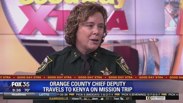 Orange County Chief Deputy travels to Kenya on mission trip
