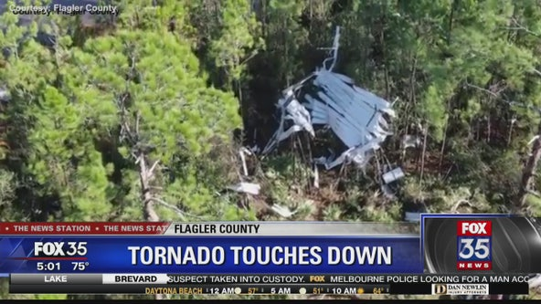 EF-1 tornado touched down in Flagler County, National Weather Service confirms
