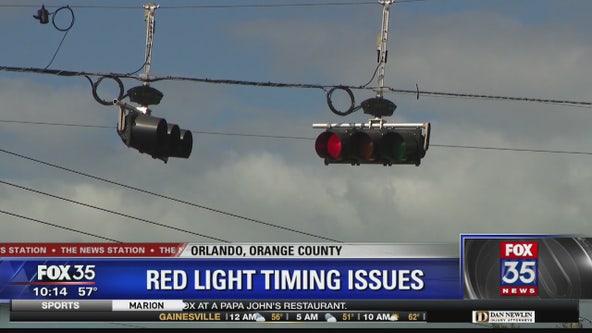 Orlando traffic signal takes more than 3 minutes to turn green