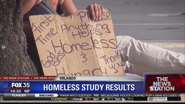 Orlando homeless study results