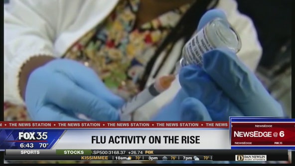 Flu activity on the rise across Florida