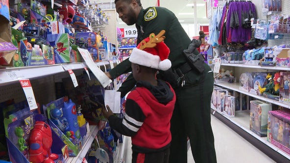 Orange County deputies host 'Shop with a Cop' event
