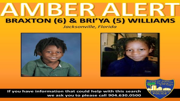 AMBER Alert issued for two children out of Jacksonville