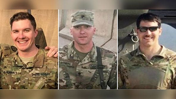 3 men killed in Minnesota National Guard helicopter crash remembered as 'top-notch soldiers'