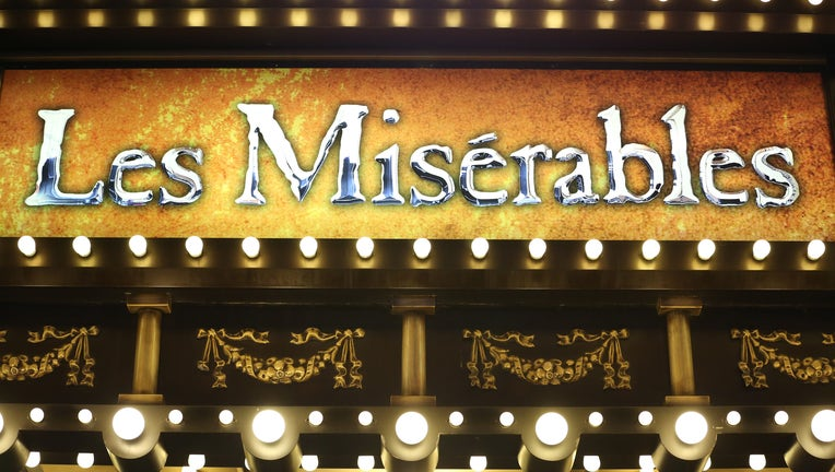 Theatre Marquee for the Broadway Opening Performance of