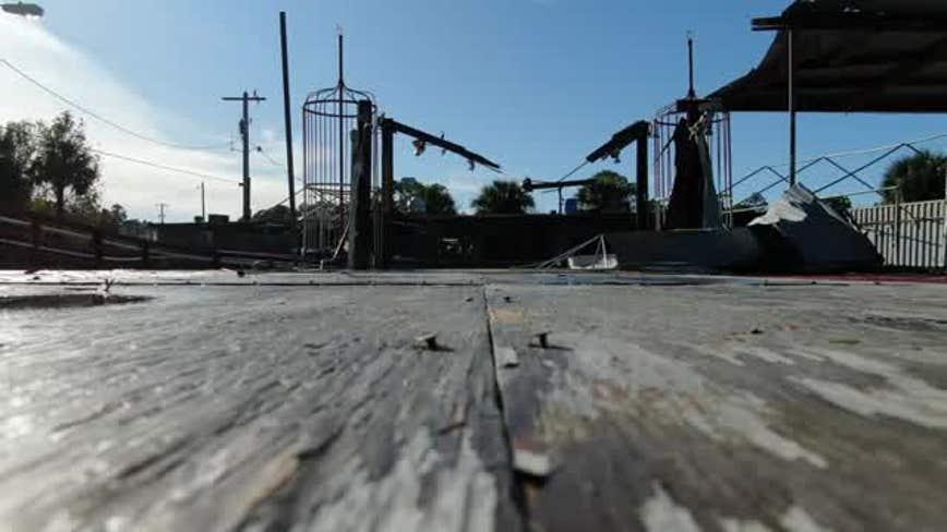 Flagler County drone surveys tornado damage