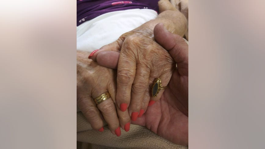 Jewelry stolen off of elderly woman's hand in nursing home, police say
