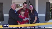 Orange County Wounded Warrior given keys to new home