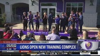 Lions open new training complex
