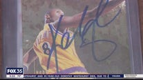 Kobe Bryant fan gives FOX 35 a look at his priceless collection