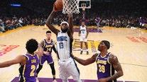 Magic snap Lakers' 9-game winning streak in 119-118 thriller