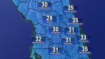'Dangerously low' wind chills, freezing temperatures forecasted in Central Florida this week