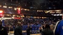 Moment of silence, 'Kobe' chant kicked off LA Clippers vs. Orlando Magic game