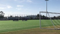 Orlando City Soccer Club cuts ribbon for new training ground at Osceola Heritage Park