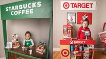 3-year-old girl's Target, Starbucks-themed playroom goes viral: 'This is so cute!'