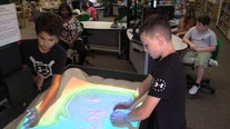 Elementary school gets high-tech 'augmented reality' sandbox for lessons on environment