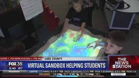 Virtual sandbox helping students learn about environment