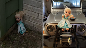 'Haunted' Elsa doll keeps coming back after being thrown away, family claims