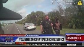 Volunteer FHP troopers track down carjacking suspect