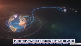 Push to put more focus on getting man to Mars