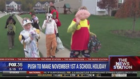 State senator proposes to make the day after Halloween a school holiday