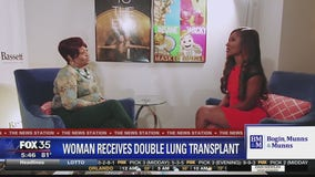 Woman receives double lung transplant