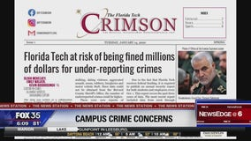 Student journalists at Florida Tech uncover crime Stat discrepancies