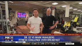 Dr. Oz vs. Mark Wahlberg fitness challenge over breakfast