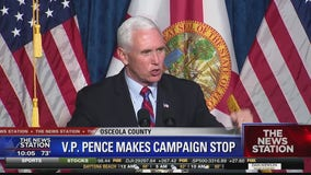 VP Mike Pence makes campaign stop in Kissimee