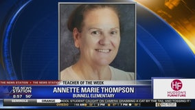 Teacher of the Week: Annette Marie Thompson