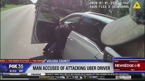 Man accused of attacking Uber driver