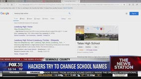 Hackers change names of Florida schools in Google search