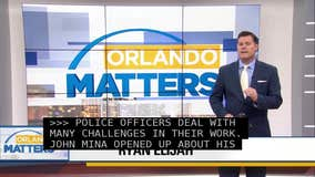 Sheriff John Mina raises awareness about mental health of deputies, PTSD