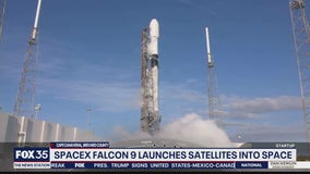 SpaceX Falcon 9 launches from Cape