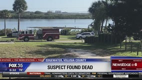 Suspect found floating in intercoastal hours after search
