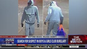 Search for suspects in Boys & Girls Club burglary