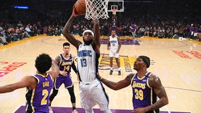 Magic snap Lakers' 9-game winning streak in 119-118 thriller