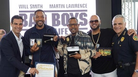 'Bad Boys' Will Smith, Martin Lawrence named honorary officers by Miami Police Department
