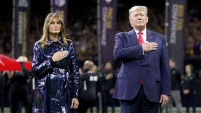 'Four more years': President Trump cheered by crowd at LSU-Clemson national championship game