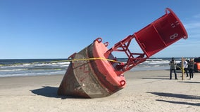 Bye bye, buoy! Giant buoy could be removed Thursday from New Smyrna Beach