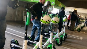 Electric scooters hit the streets of Downtown Orlando