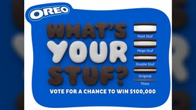 How much creme do you like in your Oreos? Your opinion could win you $100,000