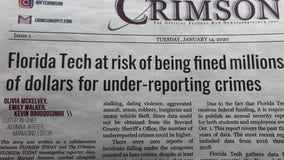 Student journalists at Florida Tech uncover discrepancies in crime stats reported by school