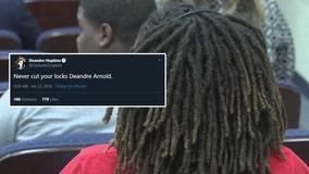 Texans WR DeAndre Hopkins tweets support to Barbers Hill senior amid dreadlock controversy