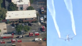 At least 60 people treated after plane dumps jet fuel near several schools in LA area