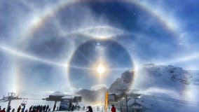 'Ice halo' spotted around the Sun in incredible photo