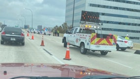 Tips on what to do following a crash along an interstate or busy road