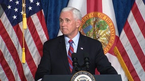 Vice President Pence speaks at Latinos For Trump rally in Kissimmee