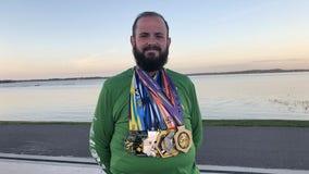 Man completes challenge to go from morbid to marathon