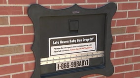 Newborn baby girl surrendered in Indiana fire station's baby box
